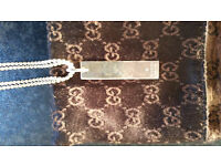New Gucci Silver Jewellery Necklace Women -40% OFF