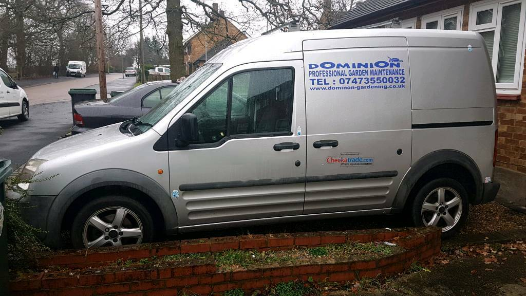 Ford transit connect 2007 high roof panel van