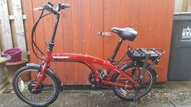 2 X Hopper Urban SE Folding Electric Bikes.
