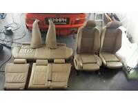 BMW X5 E53 2000-2006 BEIGE LEATHER SEATS SET. INTERIOR. QUICK SALE!