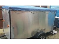 8ft x 4ft box trailer