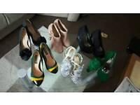 Shoes Joblot Carboot Size 2 Heels