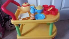 Hostess trolley & accessories