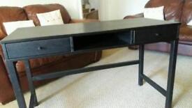 Desk black veneer