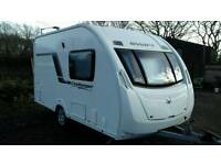 2012 swift challenger sport 2 berth caravan in vgc with keys papers hpi clear