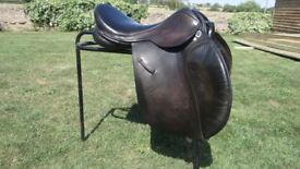 17.5'' GP IDEAL Saddle Dark brown Excellent Condition
