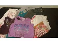 Bundle of clothes, Ted Baker, DKNY, Oilily, Guess, Pineappe, Riverisland