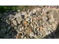 Hardcore / rubble for patio / shed / garage base