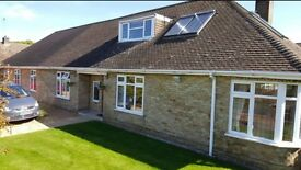 Luxury double room in large immaculate Bungalow