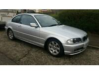 Bmw 318ci SE Coupe, Long Mot, May Swap or P/X, Full Black Leather.