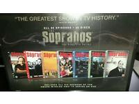 Sopranos full dvd boz set sealed brand new