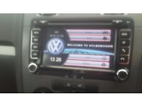 Vw / seat / skoda / audi dvd satellite navigation Bluetooth head unit