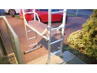 Multifunction Platform/ A frame ladder. Almost unused - like new.