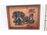 3D ELEPHANT PICTURE FRAME