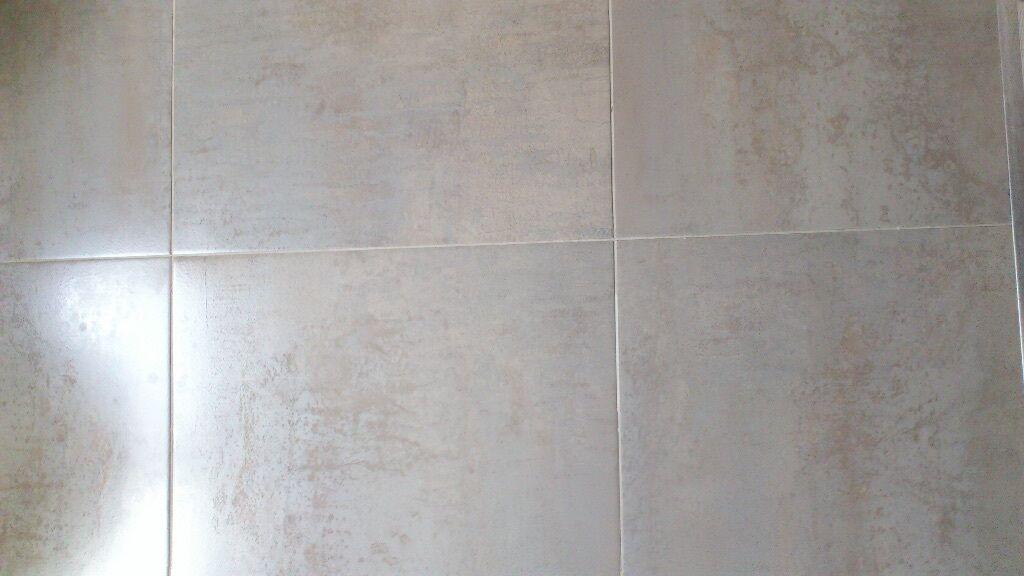 Brand new still boxed porcelanosa floor tiles ferroker alumino in sheffield south yorkshire for Porcelanosa floor tiles