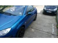 2001 peugeot 206cc with low miles