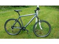 Ridgeback mountain bike with slick tyres