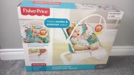 Brand new Fisher price bouncer