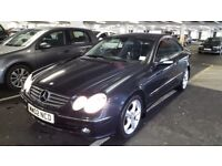 Mercedes clk240 auto. Fsh.mot.low mileage 2002 newer shape. Leather heated seats.lovely smooth