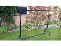 Clothes Rail Heavy Duty STRONG type 5 foot and 6 Foot. Ideal for carboot/market or lots of clothes