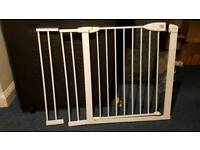 Lindam stair gate + 2 x extensions