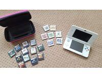 White New Nintendo 3DS bundle