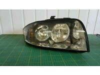 Audi A2 front driver headlight right hand side