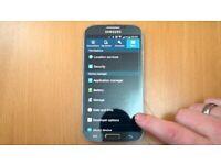 SAMSUNG GALAXY S4 16GB UNLOCKED MOBILE PHONE A+ GRADE