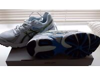 Trainers size 5 1/2 white & black