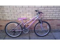 Girls jazmin sabre mountain bike