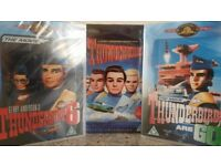 THUNDERBIRDS COMPLETE SERIES + THEIR TWO MOVIES DVDS SEALED