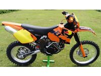 KTM 450 EXC 2003,VERY GOOD CONDITION,NEW MOT