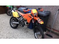Ktm exc 400 project