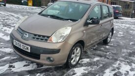 Nissan Note 2007 1.6l Automatic