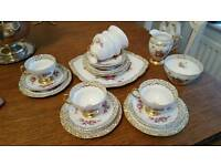 Antique imperial crown China teaset