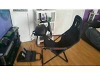 Xbox/pc steering wheel full set up