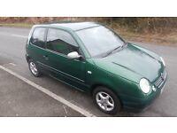 2001 VW Volkswagen Lupo S 1.4 Litre Petrol Hatchback