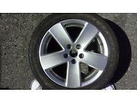 Volkswagen Passat B6 spare alloy wheel 235/45ZR17 97 W