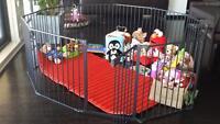 Baby gate playpen superyard