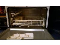 Currys Essentials Compact Tabletop/Over the Counter Dishwasher