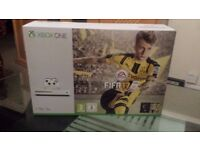 BRAND NEW WHITE XBOX ONE S 1TB WITH FIFA 17!!!