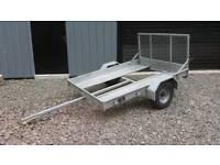 Quad trailer hudson 7x4ft ( quad scrambler )