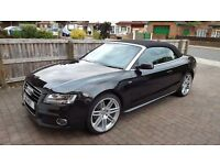 AUDI A5 3.0 TDI S LINE S TRONIC QUATTRO CONVERTIBLE 2DR – 242 BHP