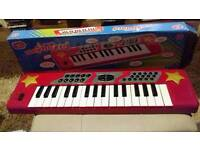 Chad Valley Electronic Keyboard.