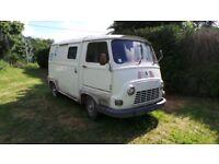 Original Classic French Renault Estafette Van 1979 Project Like Citroen Hy LHD Barn Find