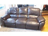 Dark Brown Sofa - Free