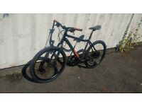 VOODOO BLACK MAGIC ALLOY WITH DOUBLE DISC BRAKES 21 SPEED 26 INCH WHEEL AVAILABLE FOR SALE
