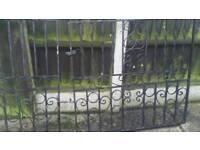 Driveway Wrought iron gate £65 ono
