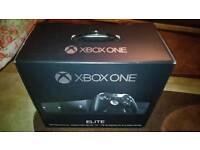 Xbox one elite 1tb + elite controller