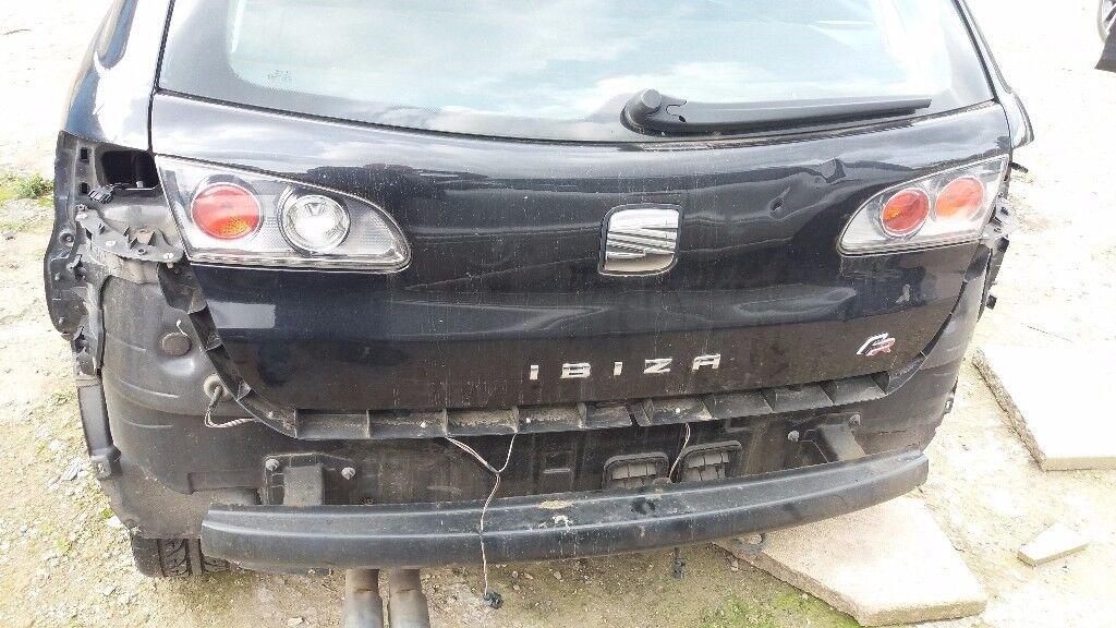 2006 SEAT IBIZA FR T PETROL 1.8 TURBO DAMAGED